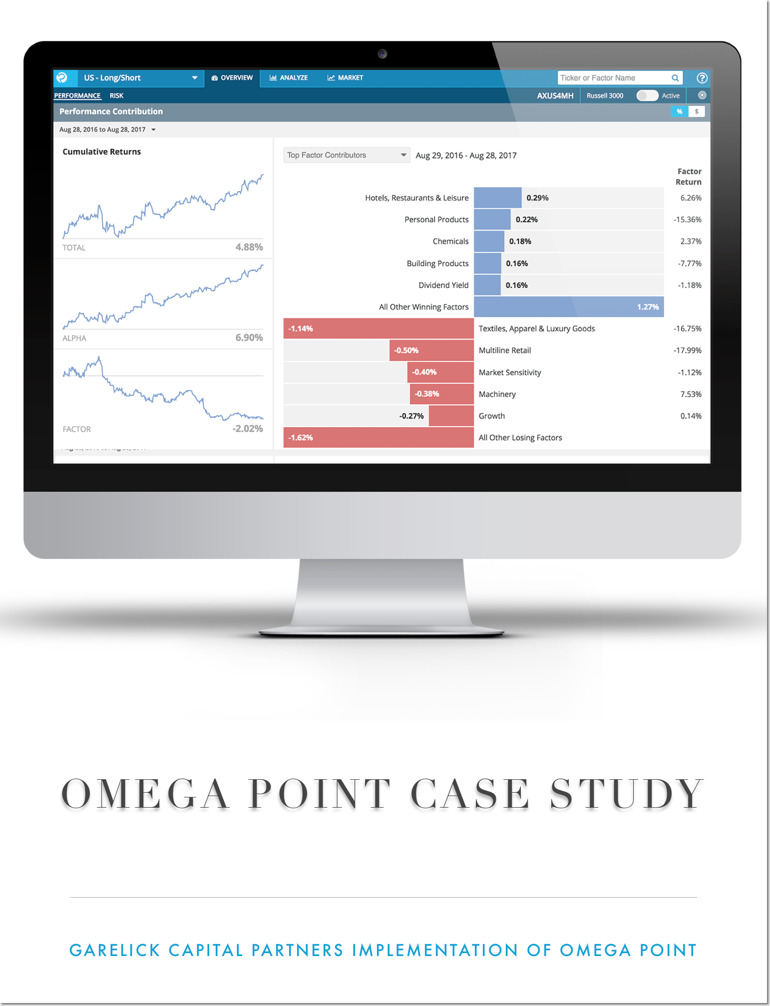 Omega Point Case Study cover page